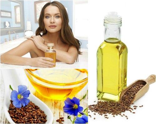 льняное масло для волос польза