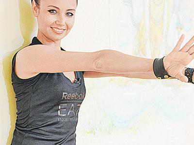 Упражнения для похудения Ляйсан Утяшевой