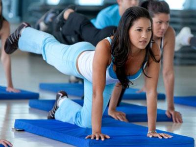 упражнения против жира на животе фото