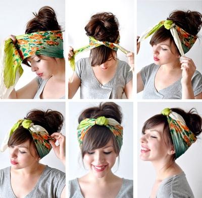 Как сделать своими руками повязку на голову