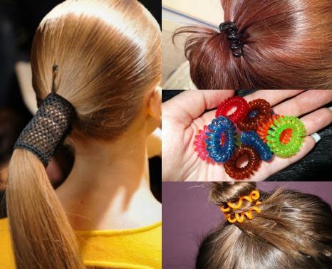 Резинки-пружинки для волос как сделать