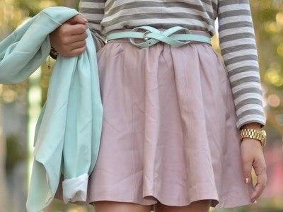 Как правильно завязать пояс от платья