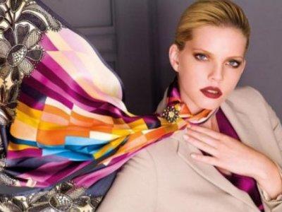 Как завязывать шарфы, платки, палантины?