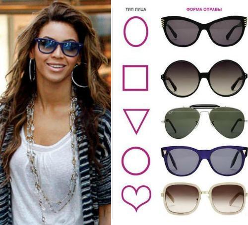 Очки солнцезащитные для маленького лица