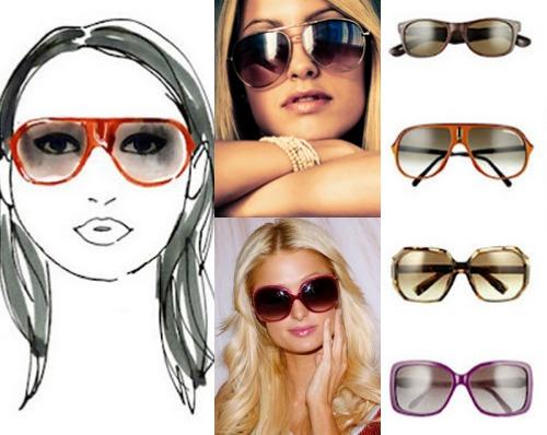 Какие солнцезащитные очки подходят девушкам с круглым лицом  73f3aaafaf4