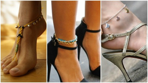 Откуда зародилась традиция носить браслет на ноге
