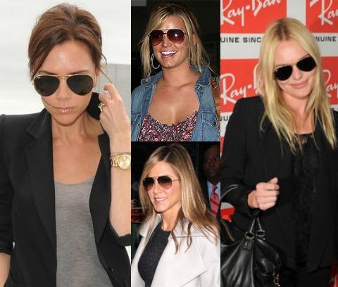 С чем следует носить солнцезащитные очки-капельки  7427df98ab748