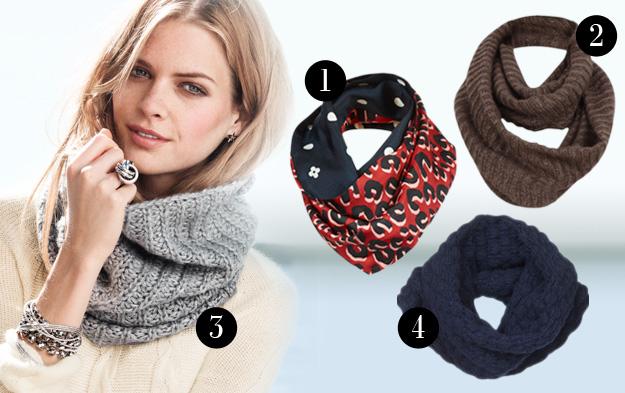 Новый Как носить шарф - трубу? MF12