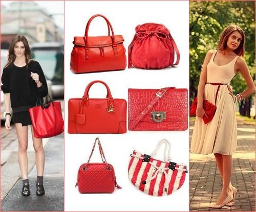 709132a74d2a С чем носить красную сумку?