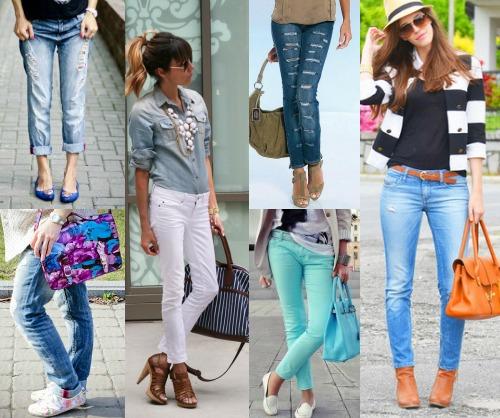 Правила сочетания обуви и джинсов