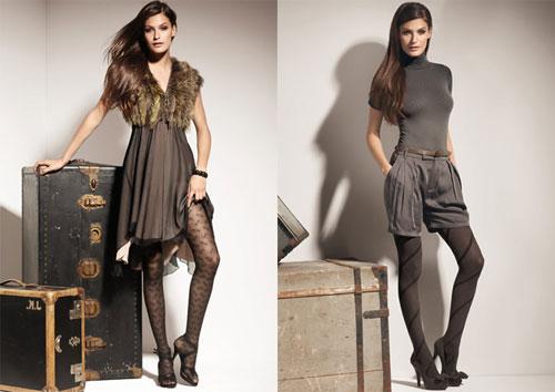 Девушка одевает ажурные колготки видео фото 67-860