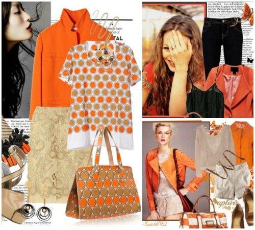 Какие оттенки оранжевого цвета в одежде подходят к Вашей внешности