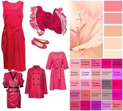 Розовый цвет что означает