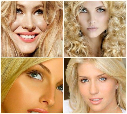 Одежда для блондинок