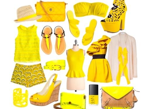 Что означает желтый цвет в психологии