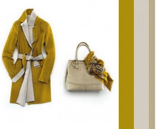 С каким цветом одежды сочетается оливковый цвет