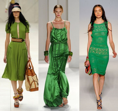 Значение зеленого цвета в одежде в зависимости от оттенка