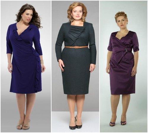 Фасоны деловых платьев для 50 лет