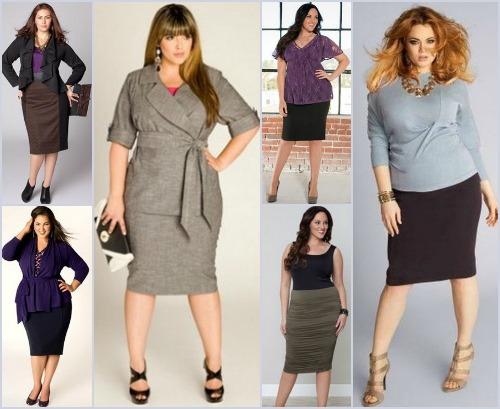 Какие юбки носить полным женщинам