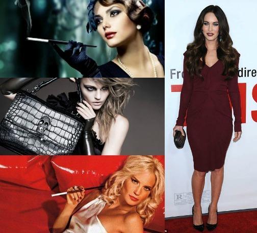 Платья женщины вамп