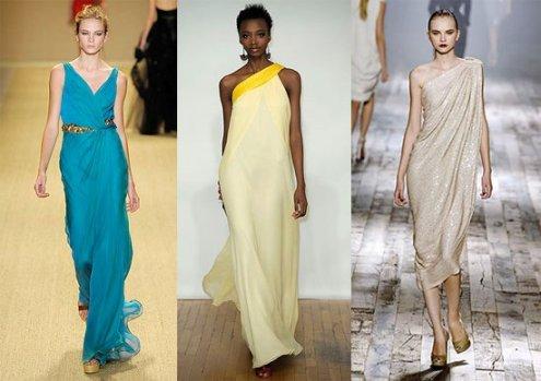 Что нового предлагают современные дизайнеры в традиционном античном наряде?