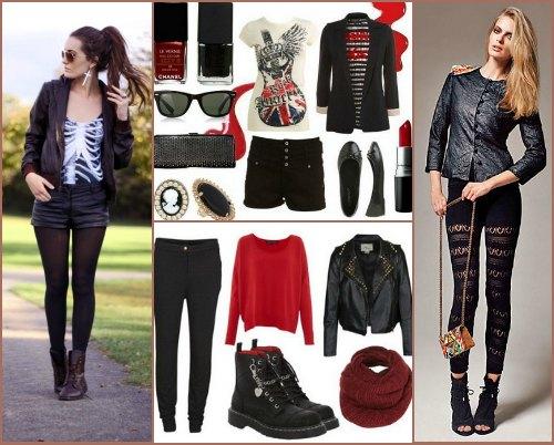Что представляет собой одежда в стиле глэм-рок?
