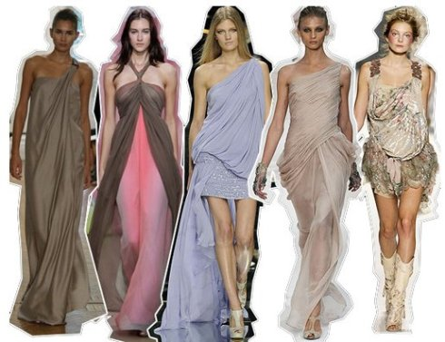 Для кого подходят наряды в греческом стиле?