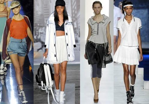 Где уместен спортивный стиль одежды?