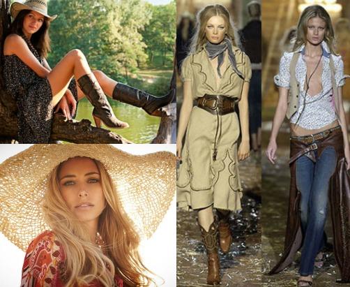 История возникновения деревенского стиля в одежде