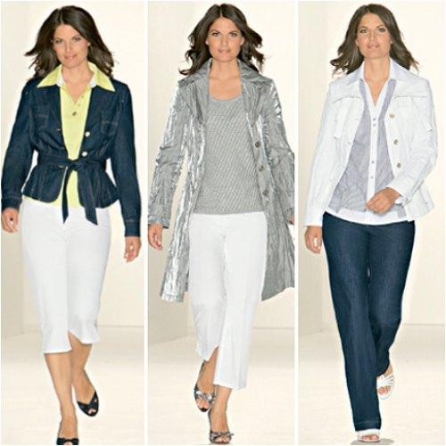 Как выбрать одежду для женщины 40 лет по типу фигуры?