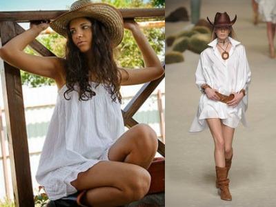 Платья ковбойского стиля
