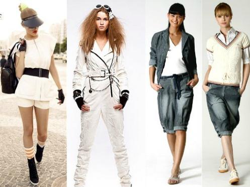 Особенности одежды спортивного стиля для девушек