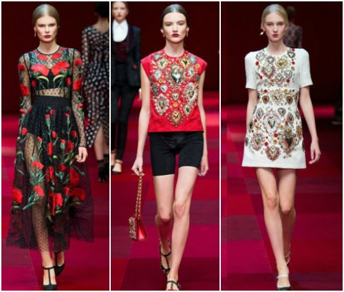 Стиль рококо в одежде и современность