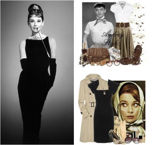 Характерные черты стиля одежды Одри Хепберн