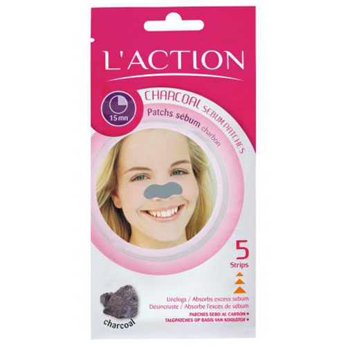 Полоски LAction для носа