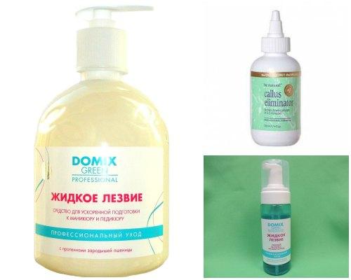 Раствор жидкий для педикюра в домашних условиях