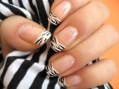 Как делать узоры на ногтях?
