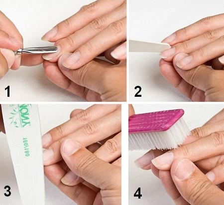 Как делать маникюр с шеллаком в домашних условиях