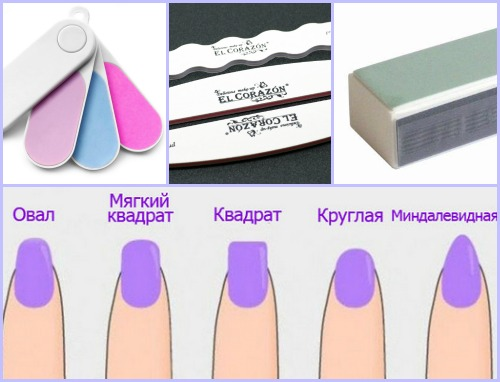 Абразивность пилки для натуральных ногтей
