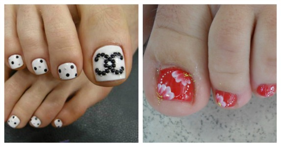 Выбираем дизайн ногтей на ногах