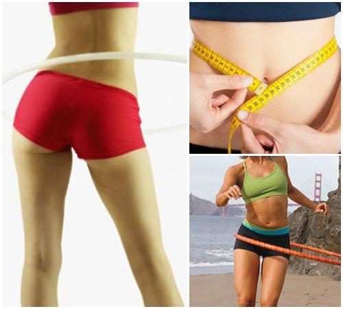 как похудеть с обручем и скакалкой