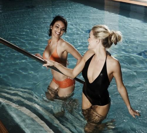 как похудеть сидя на воде