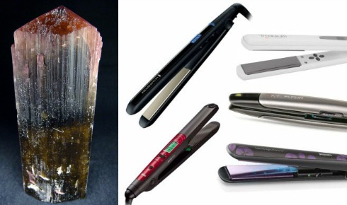 Утюжки для волос турмалиновые