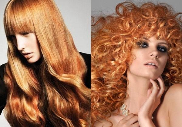 Как сделать волосы рыжими?