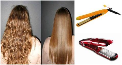 Как использовать утюжок для волос