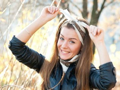 Как завязать повязку на голову?