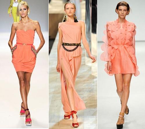 Преимущества персикового цвета в одежде