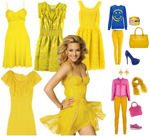 Психология восприятия желтого цвета в одежде