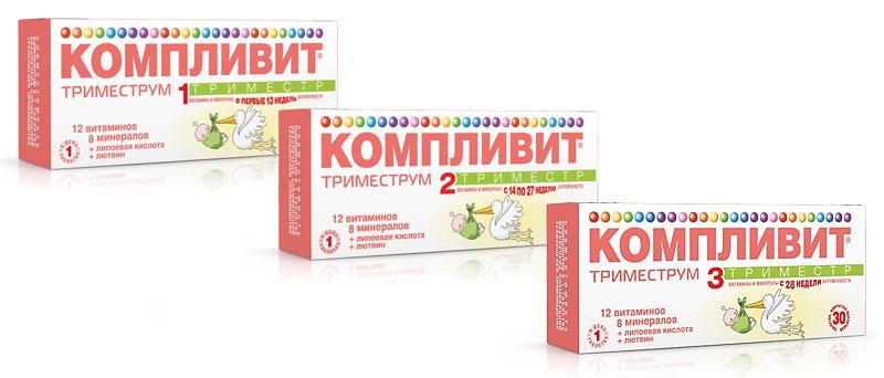 Витамины Компливит триместрум