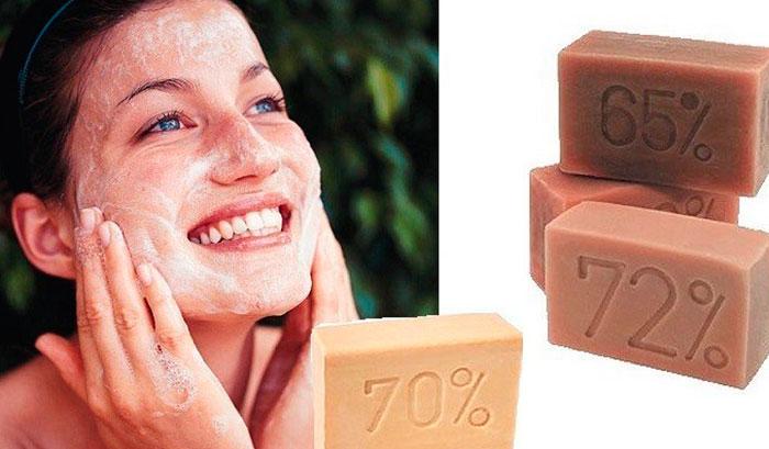 Хозяйственное мыло для лица